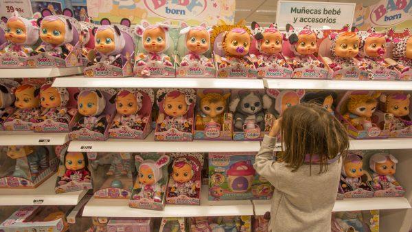 Las ventas online de juguetes crecen de forma imparable y ya suponen el 20% del total