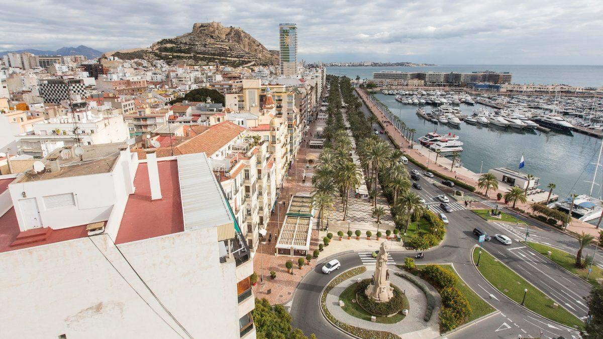 Las calles más caras de Alicante