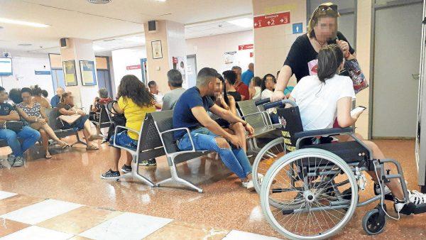 La olla a presión de la Sanidad en Alicante